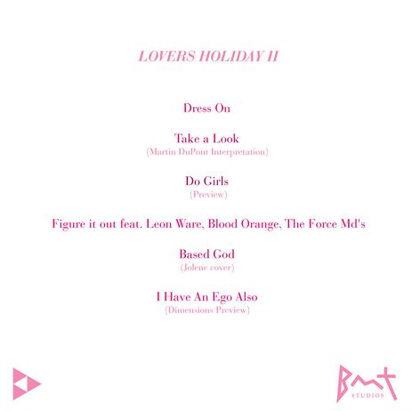 lovers-holiday-2-tracklist