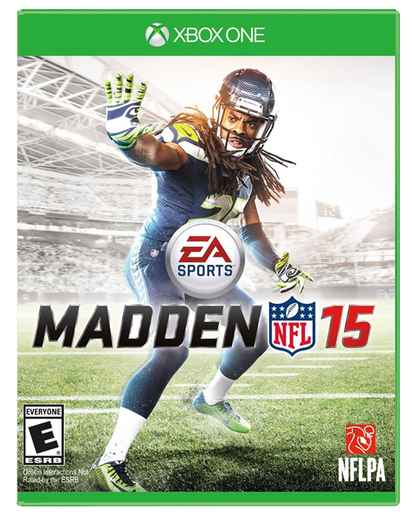 Madden 15 Cover Featuring Richard Sherman