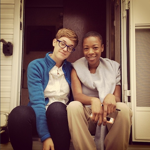 Poussey And Officer Bennett Dating In Real Life