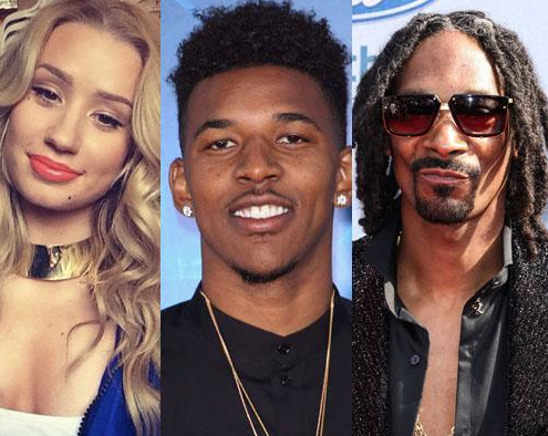 Iggy Azalea, Nick Young and Snoop Dogg