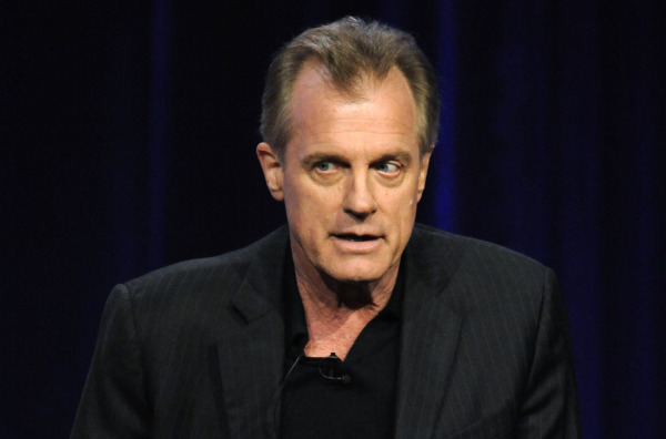 """Stephen Collins participates in the panel for """"No Ordinary Family"""" in Beverly Hills, California in this file photo"""