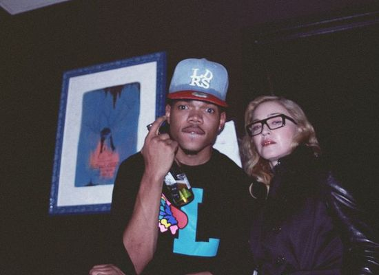 Madonna and Chance The Rapper