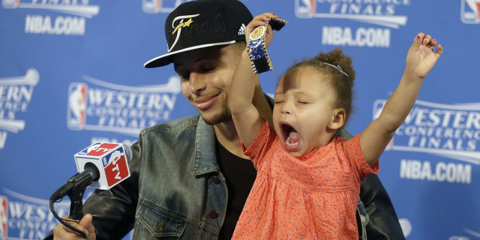 0eb785bd8c20 Riley Curry s Got The Best Memes Of All Time