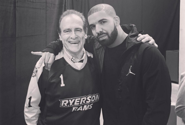 Drake and Norm Kelly